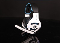 Top quality usb computer headphone Sades 7.1 channel professional gaming headset with mic and remote control deep bass earphone