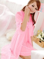 princess sexy sling nightgowns with two pieces in one