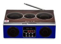 SU-12 Portable Mini Sound box MP3 player Rechargeable Mobile Speaker SD/USB/FM