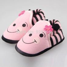krippe schuhe rosa kleinkind Neugeborenen kinderbett schuhe prewalker baumwolle weiche sohle babyschuhe 0-12m versandkostenfrei(China (Mainland))