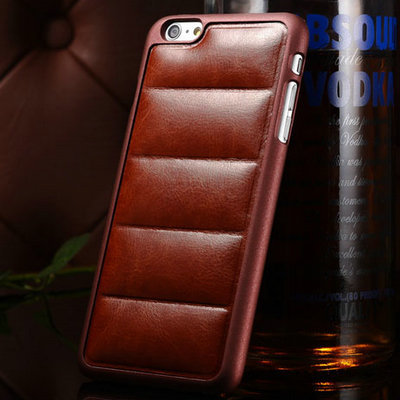 Luxury Sofa Pattern PU Leather Case For iPhone 6 Plus Retro Hard Back Cover Case for iPhone 6 Plus Case Plastic Cover(China (Mainland))
