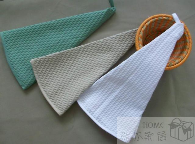 Diameter 70 cm , High Quaity ! 100% Cotton, tea towel napkins, dish dishcloth, kitchen towel, waffle, hanging towel(China (Mainland))