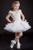 fashion real photo design christmas winter dresses off shoulder kids mini princess flower girls dress for weddings RTT-0402