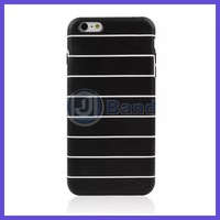 100pcs/lot For iPhone 6 plus 5.5 inch High quality stripe soft TPU case Free shipping