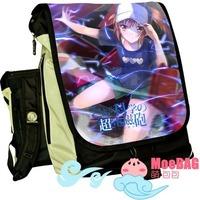 Toaru Kagaku no Railgun Backpacks variety of trend  Anime Cartoon's Backpacks Detachable cover package