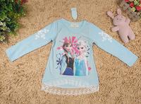 Romance snow princess girls long-sleeved t-shirt 1010 sylvia 36372506175