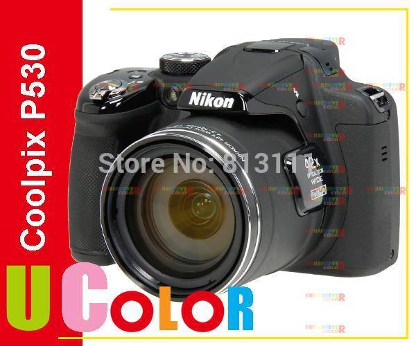 Original New Nikon COOLPIX P530 16.1 MP CMOS Digital Camera 42x Zoom Black(Hong Kong)