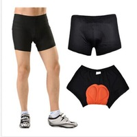 Men Women Bicycle Cycling Bike Short Underwear Pants Shorts Gel 3D Padded Black