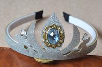 Frozen Romance Snow Princess Crown Jewelry Headdress Hair accessories For Children Frozen Anna Elsa Dance Spot Crowns 10pcs/Lot
