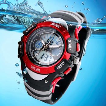 Skmei бренд цифровые часы для мужчин дети спортивные часы многофункциональный 3TAM наручные часы водонепроницаемы ZBG3036