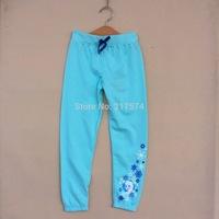 Frozen Pants Brand New Original Frozen Children Long Pants Terry Kids Autumn Trouser Elastic Waist Pants for 4-10ages