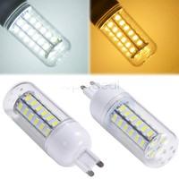 2014 Brand 9W G9 SMD5730 48 LEDs Corn Bulb Lamp Cover Light 220-240V led light for wall christmas ,party,bar,home sv18 sv010561.