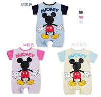 Mickey boys and girls short-sleeved Romper1010 sylvia 38933144034