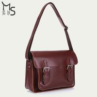2015 Bolso Bolsa Freeshipping Solid Cover Handbag Hot Men Messenger Bag 100% Genuine Leather for Casual Men's Shoulder 2015 New