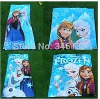 2014 New 73*150cm Frozen Towels baby bath towel Children Beach Bath Towel Frozen Elsa & Anna Princess Girls Bikini Covers