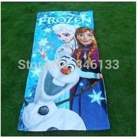 Microfiber Frozen Beach Towel Big Frozen Toalha Bath Towel 150*73cm For Children and Adult Free Shipping 60pcs
