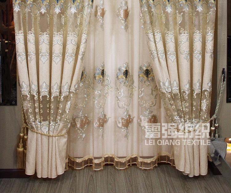 로마 커튼 장식 이케아 침실 창 배경 cortinas 자카드 자수 커튼 ...