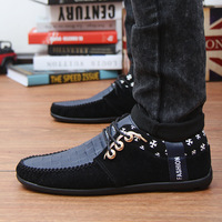 Wholesale - new summer Loafer men shoes british style pedal lounged shoes breathable sneakers sandasl&slippers 1320