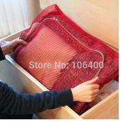 mesh clothing travel bag zipper bag cube XXL grid arrangement