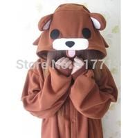 Cosplay Novelty Animal Adult Onesie Unisex Kawaii Fleece Monsters University Beholder Coffee Bear Pajamas Christmas Costume