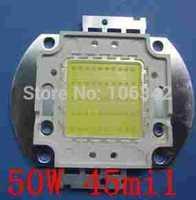 Best Pricw 50W high Power LED 45mil Epistar Chip 10*5 4500-5000lm 30-36V 1500-1750mA 10pcs/lot