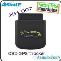 Free Shipping OBD2 OBD GPS Tracker/ GSM/GPRS/GPS/OBDII GPS Tracke xh007 for vehicle tracking and fleet management