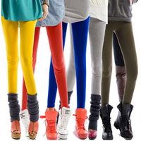 Large size 2014 New Fashion 18 colors Modal cotton tenths pants Wild thin women Leggings Free Shipping