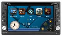 Car DVD GPS Navigation 2DIN Car Stereo Radio Car GPS Bluetooth USB/SD Universal DVD Player  (RU Warehouse)