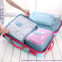 New Arrivals! Stylish Hot Travel Bags! Waterproof clothing, underwear sorting the Storage Bag, five pieces