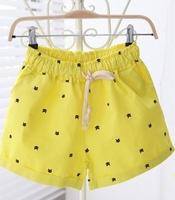 Shorts women High waist shorts Super short shorts Summer Free Green Yellow White Pom dafz071