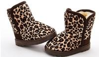 2014 winter boots children shoes leopard children's shoes ankle-boots children's boots free shipping on sales !