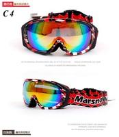 UV Protection Super Sports Ski Snowboard Skate Goggles Glasses Outdoor Motorcycle Off-Road Ski Goggle Glasses Eyewear Lens