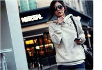 Plus Size New 2014 Autumn winter  Women Sweatshirt Fashion Sport Suit Pullover Hoody Fleece Warm Girls Hoodies Winter Clothing