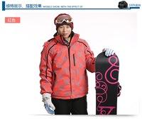 Free Shipping Outdoor Windproof Waterproof Thermal Men Professional Monoboard Snow Clothing Skiing Jacket For Men's Suit
