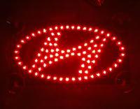 2014 Hot high quality Car styling third brake light Car Logo LED light effectively prevent rear-end parking Light for Hyundai