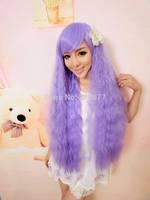 Lolita Rhapsody Women's Long Cotton Curly Wavy Hair Full Wigs
