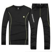 2014 new winter thermal underwear, men / women warm wind Long Johns, skiing camping hiking outdoor sports fleece underwear