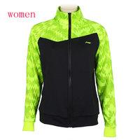 Women Badminton Jacket 2014 Li Ning Badminton Team Sponsorship jacket Li-Ning AWDJ642-1