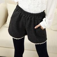 Shorts women High waist shorts super short shorts summer Free Green Pom Woolen cloth dafz0713