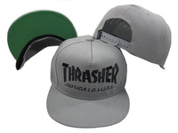 3 Colors 2014 Hot Sale Fashion New Casual Embroidery Letters THRASHER Snapbacks Hip-Hop Adjustable Baseball Caps for Men & Women