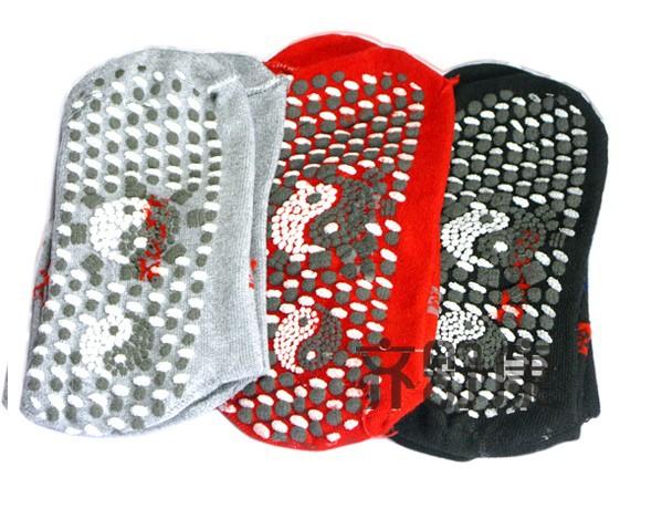 2pairs/lot New Tourmaline Automatic Heat Ankle Sock Massage Foot Massager Far infrared Anti Cold free shipping(China (Mainland))