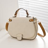 New DesignerHighQuality PU Leather Women Shoulder Bag Vintage Lady Bag Cover Bag Beige Brown Color Ladies Bag Freeshipping BGA21