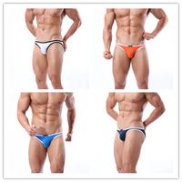 New 2014 Bikini Aussie Swimwear Mens Swim Briefs Swimming Trunks Shorts Men Swimsuit low Rise Sports 4 Colors Wholesale