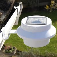 5PCS 3 LED Solar Powered LED Rechargeable Fence Garden Solar Light YSYR101