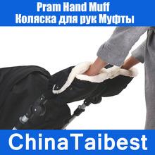 Winter Waterproof Pram Hand Muff Warm Baby Stroller Carriage Gloves Anti-freeze(China (Mainland))