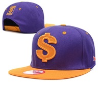Fashion dollar Snapback cap men Panel hats for women Hip Hop cap Baseball Cap adjustable gorros sun bone skateboard cap 18styles