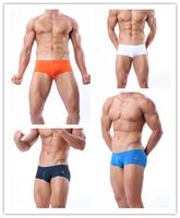 New 2014 Swimwear Men Swim Men shorts Swimming Trunks Swimsuit Aussie Bikini Sexy low Rise Sports Freeshipping Wholesale
