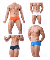 New 2014 Swimwear Men Swim Men shorts Swimming Trunks Swimsuit Aussie Bikini Sexy low Rise Sports Freeshipping Wholesale