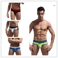 New 2014 Bikini aussie Swimwear Mens Swim briefs Swimming Trunks shorts Men Swimsuit low rise Sports 4 colors wholesale S M L XL