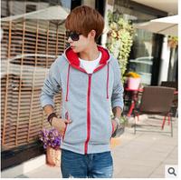 New Arrival Men's Winter&Autumn Hooded Jacket Zipper Fashion Brand men coat Slim Fit Plus Size XXL winter jacket men DropShip